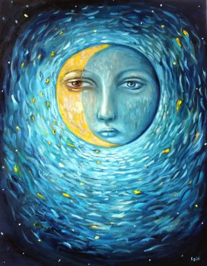 New-moon-Painting-by-Flea-Sha-e1414096347518